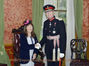 Imagen de la concesión de la medalla
