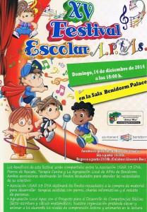XV Festival Escola portada