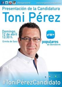 CARTEL TONI PEREZ