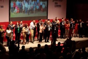 presentacion de la lista del psoe y candidato a la alcaldia de benidorm agustin navarro en las elecciones municipales de 2015