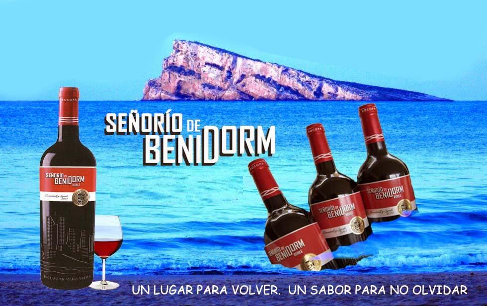 CARTEL SEÑORIO DE BENIDORM sin publi