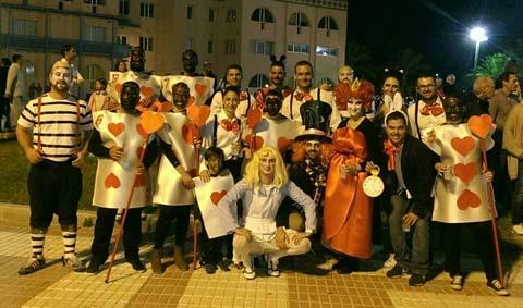 Fiestas_peña inducció gana desfile humor
