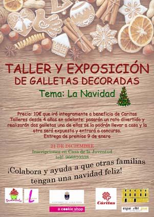 cartel taller galletas