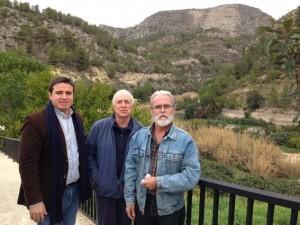 Foto Herick Campos y Alcalde Bolulla