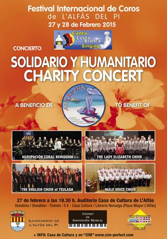 Bienestar Social_Cartel FestivalCoros Solidario 27 Febr
