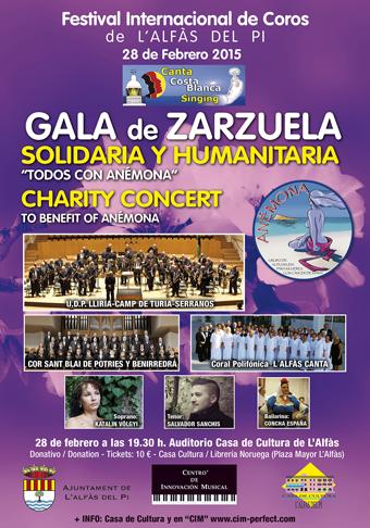 Bienestar Social_Festival CorosSolidario   28 Febr.