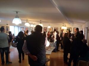 Inauguración exposición Colagraph