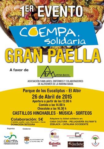 Coempa_cartel PAELLA SOLIDARIACOEMPA
