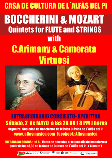 Cultura_cartel concierto ARIMANY &CAMERATA VIRTUOSI