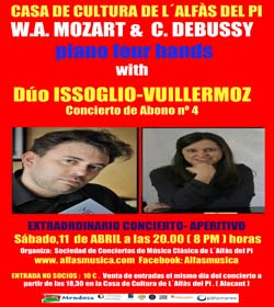Cultura_cartel concierto Issoglio yVuillermoz