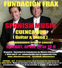 Cultura_cartel concierto dúo cuenca