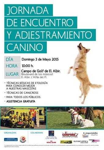 Deportes_cartel jornadaadiestramiento canino