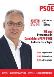 cartel presentacion candidatura