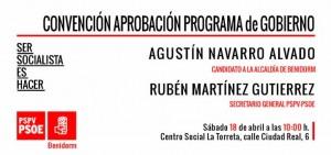 invitacion convencion programa