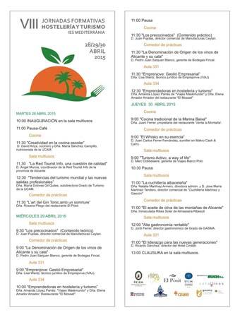 programa jornadas formativas 2015-2