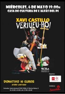 cartel Xavi Castillo