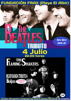 Fundación Frax_tributo a the beatles 4 julio
