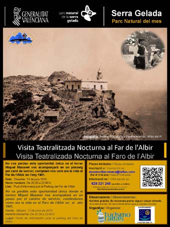 Serra Gelada_cartel visitateatralizada
