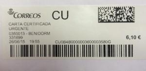 copia certificacion carta
