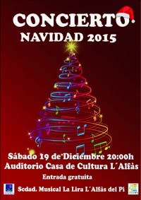 Cultura_cartell concert nadal LaLira 2015