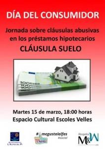 Consumo_cartel charla cláusulas abusivas
