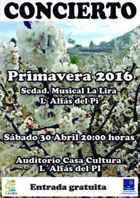 concert primavera 2016